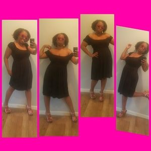 Fabulously chic black dress